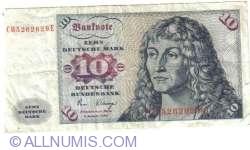 Image #1 of 10 Deutsche Mark 1980 (2. I.)