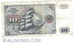 Image #2 of 10 Deutsche Mark 1980 (2. I.)