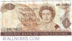 Image #1 of 1 Dollar ND (1989-1992)
