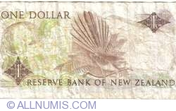 Image #2 of 1 Dollar ND (1989-1992)