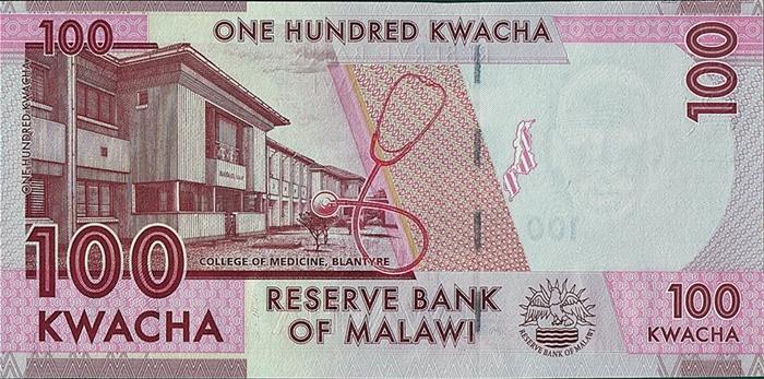 Malawi 2015 20;50 Kwacha Set Picks 57;58 UNC