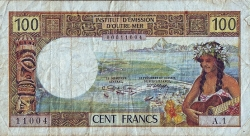 Image #1 of 100 Francs ND (1965-1971)