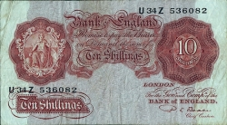 Image #1 of 10 Shillings ND(1949-1955) - 1
