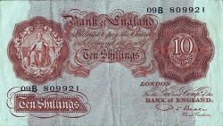 Image #1 of 10 Shillings ND(1949-1955) - 2
