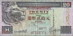 Image #1 of 20 Dollars 1997 (1. I.)