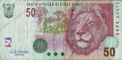 Imaginea #1 a 50 Rand ND (2010) - Semnătură Gill Marcus
