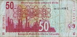 Imaginea #2 a 50 Rand ND (2010) - Semnătură Gill Marcus