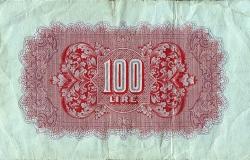Imaginea #2 a 100 Lire ND(1943)