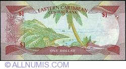 Image #2 of 1 Dollar ND (1985-1988)