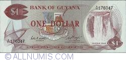 1 Dollar ND (1966 - 1992) (1983) - signature 6