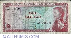 Image #1 of 1 Dollar ND (1965)