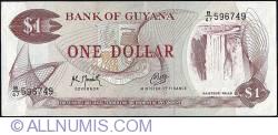 Image #1 of 1 Dollar ND (1966-1992) - signature 9