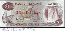 Image #1 of 1 Dollar ND (1989) - signature 7