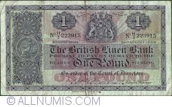 Image #1 of 1 Pound 1958 (28.VIII.)