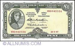 Imaginea #1 a 1 Pound 1967 (29.5.1967)
