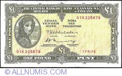Imaginea #1 a 1 Pound 1974 (17.V.)