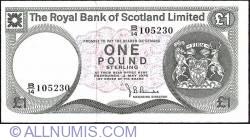 Image #1 of 1 Pound 1976 (3. V.)