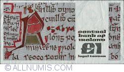 Imaginea #2 a 1 Pound 1981 (21. IX.)
