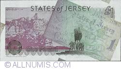 Imaginea #2 a 1 Pound 1995 (9. V.) - A 50-a aniversare a eliberării Statului Jersey
