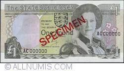 Imaginea #1 a 1 Pound 1989 (ND)  - Specimen