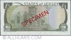 Imaginea #2 a 1 Pound 1989 (ND)  - Specimen