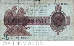 Imaginea #1 a 1 Pound ND(1922-1923)