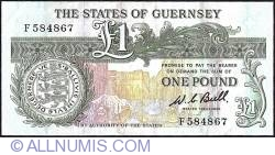 Image #1 of 1 Pound ND (1980 - 1989)