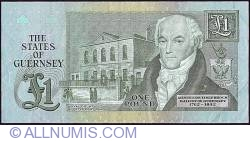 Image #2 of 1 Pound ND (1980 - 1989)