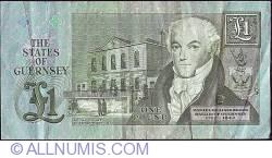 Imaginea #2 a 1 Pound ND (ca. 1991-)