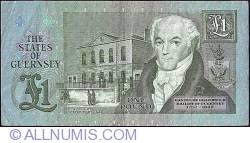 Imaginea #2 a 1 Pound ND (1980 - 1989)
