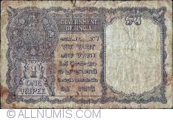 Image #2 of 1 Rupee 1940