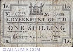 Imaginea #1 a 1 Shilling 1942 (1. I.)