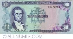 Imaginea #1 a 10 Dollars 1981 (1. XII.)