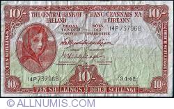 Imaginea #1 a 10 Shillings 1962 (03.I.)