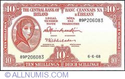 Imaginea #1 a 10 Shillings 1968 (06.VI.)