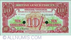 Imaginea #1 a 10 Shillings ND(1956)