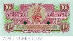 Imaginea #2 a 10 Shillings ND(1956)