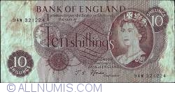 Image #1 of 10 Shillings ND (1966-1970)
