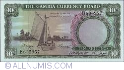 Imaginea #1 a 10 Shillings ND (1965-1970)