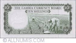 Imaginea #2 a 10 Shillings ND (1965-1970)