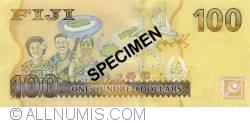 Imaginea #2 a 100 Dollars ND (2012) - Specimen