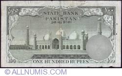 Imaginea #2 a 100 Rupees ND (1957) sign Shujaat Ali Hasnie