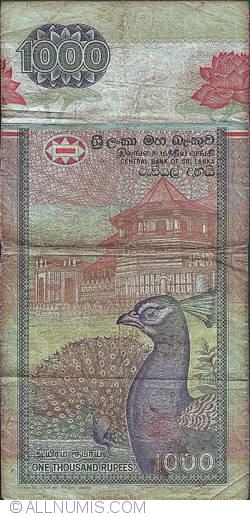 Imaginea #2 a 1000 Rupii 1995 (15. XI.)