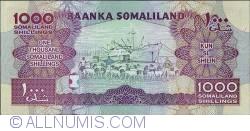 Imaginea #2 a 1000 Shillings 2011