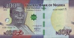 Imaginea #1 a 100 Naira 2014
