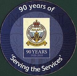Imaginea #2 a 25¢ NAAFI Badge with 90 year logo 2010
