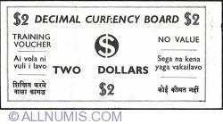 Imaginea #1 a 2 Dollars ND (1968) - Training Voucher