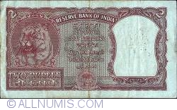 Image #2 of 2 Rupees ND - H.V.R. Iyengar - Off-centre error.