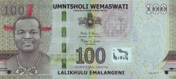 100 Emalangeni 2017 (6. IX.)