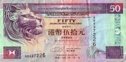 Image #1 of 50 Dollars 1993 (1. I.)